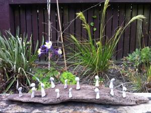 Jeanne's garden sculpture