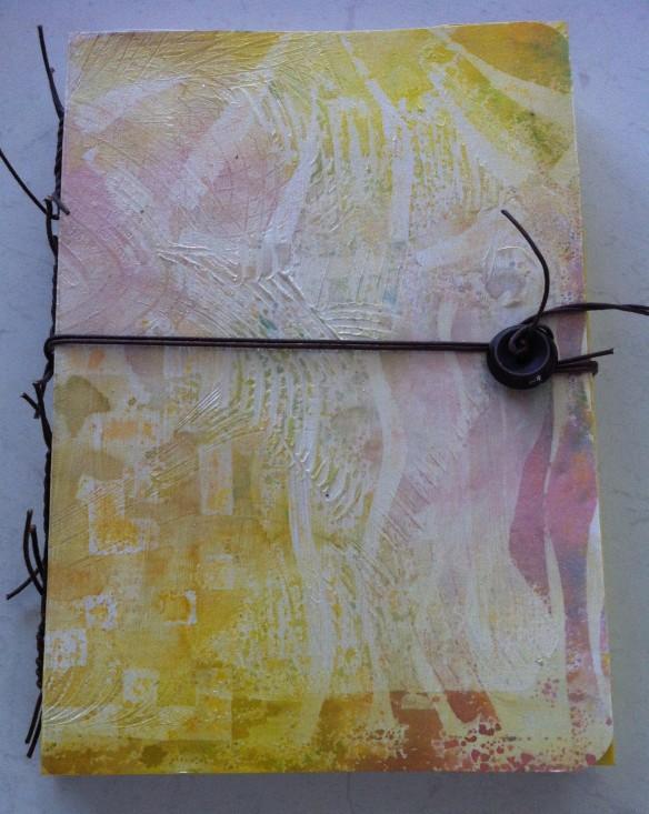Tacket stitch journal